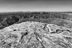Erosion, Goose Necks of the San Juan River, Utah
