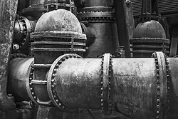 Valve and Pipe, Ward Water Plant Buffalo NY