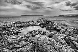 High Tidal Pool, Harris Island Outer Hebrides, Scotland