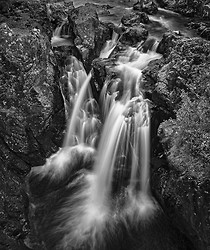 Lower Steall Falls, Fort William, Scotland