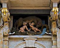 Romulus and Remus in Brussels, BE