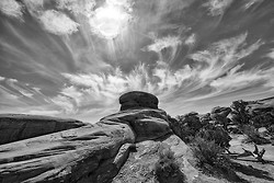 Sandstone Knob, Arches NP Utah