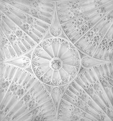 Baptismal Ceiling, St. Lawrence Church, Evesham England (2008/5039)