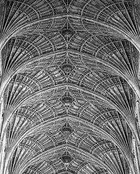 Ceiling Details, Kings College Chapel, Cambridge England (2008/5