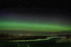 Aurora Borealis , Lochmaddy, North Uist Scotland