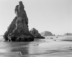 Early Light at Spiral Rock, Bandon Beach OR (5740)