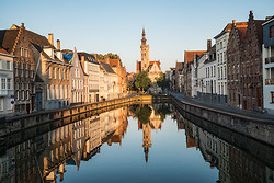 Canal Reflections, Bruges BE