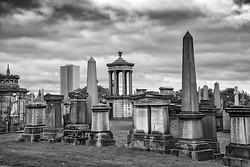 Monuments, Necropolis, Glasgow Scotland