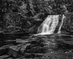Middle Falls, Du Pont Forest, NC