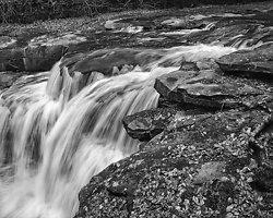Falls on on Dunlop Creek, New River Gorge WV (2014/D01461)