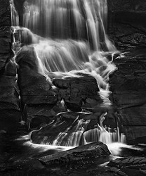 Water Tendrils, Bottom of High Falls, DuPont Forest NC