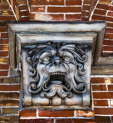 Laughing Green Man, Bruges BE