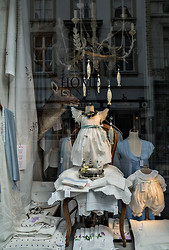 Home Linen Store Window, Bruges BE